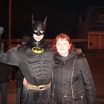 Бэтмен на новогодних гуляниях